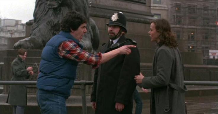Bobby in Trafalgar Square
