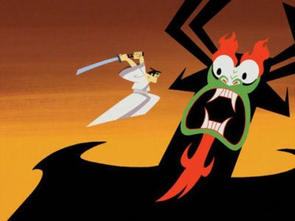 Samurai Jack - Season 2 Episode 01: Jack Learns To Jump Good