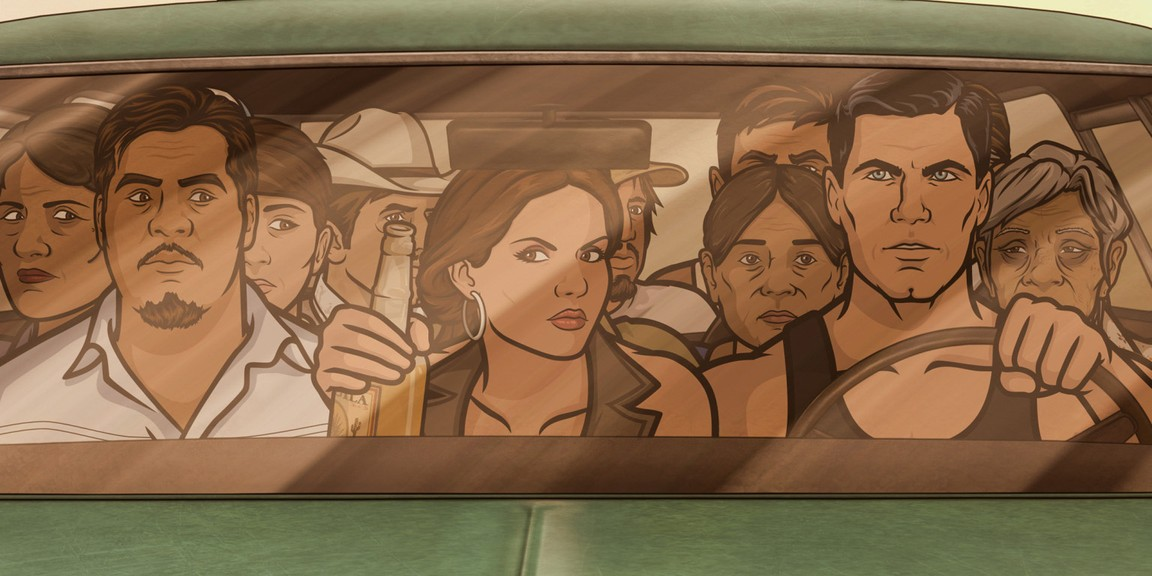 Archer - Season 4 Episode 08: Coyote Lovely