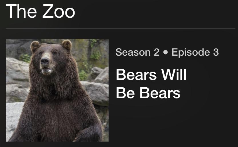 The Zoo - Season 3