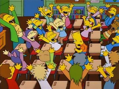 The Simpsons - Season 5 Episode 12: Bart Gets Famous