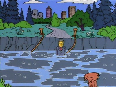 The Simpsons - Season 5 Episode 20: The Boy Who Knew Too Much
