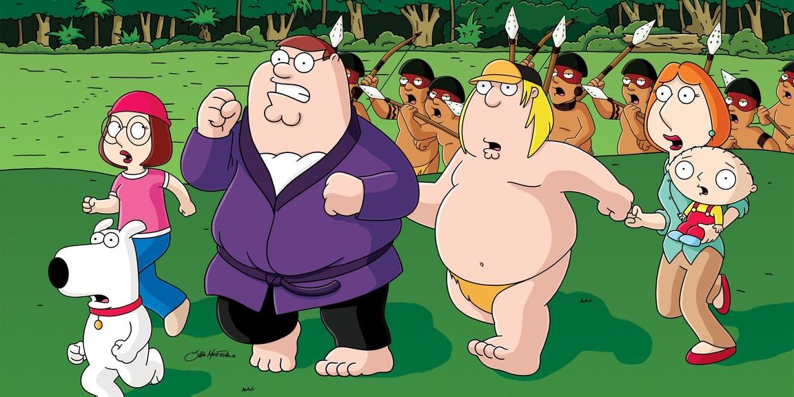 Family Guy - Season 4 Episode 13: Jungle Love