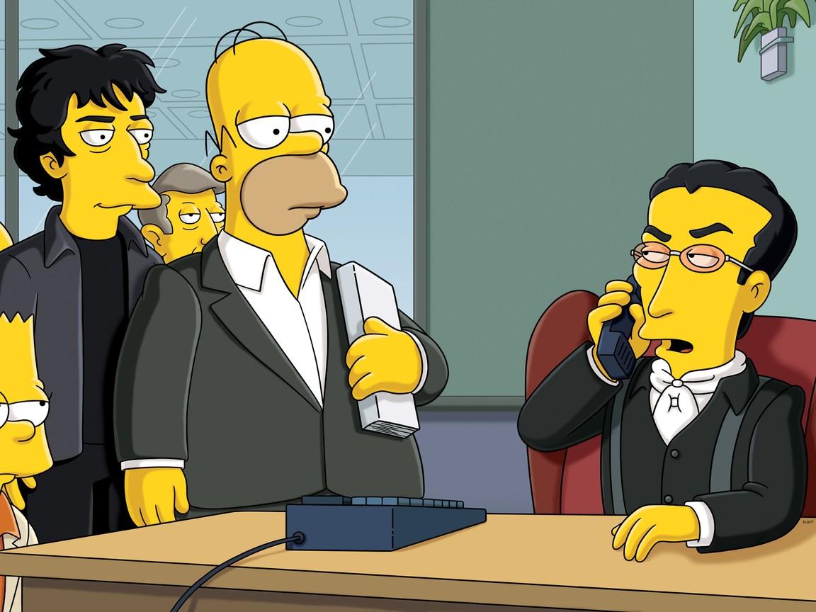 The Simpsons - Season 23 Episode 06: The Book Job