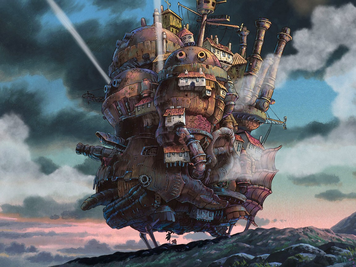 Howl's Moving Castle [Audio: Eng]